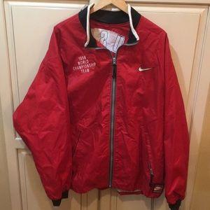 Vintage 90s nike team sports usa windbreaker xl
